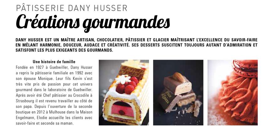 Dany Husser dans le magazine l'Offre Déco - L'Alsace